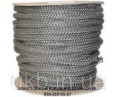 Шнур керамический, огнестойкий 8 мм / Шнур керамічний вогнетревкий 8 мм