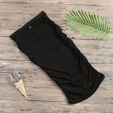 Юбка черная сеточка - 130-206, фото 3