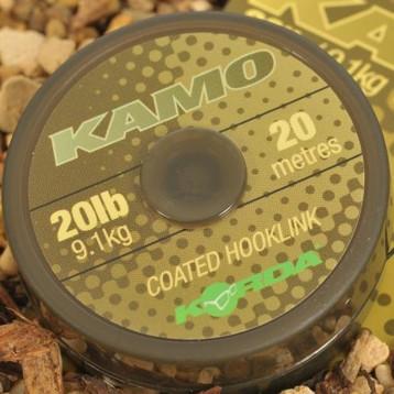 Поводочный материал Korda Kamo coated Hooklink, 20m