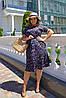 Летнее воздушное, любимое платье на каждый день р.48,50,52,54 код 0044У, фото 4