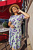 Летнее воздушное, любимое платье на каждый день р.48,50,52,54 код 0044У, фото 5