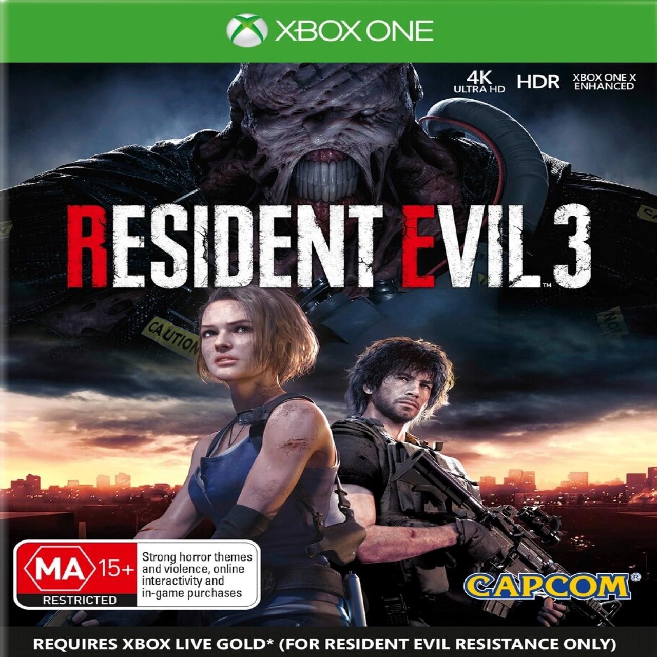 Resident Evil 3 (з російськими субтитрами) Xbox One