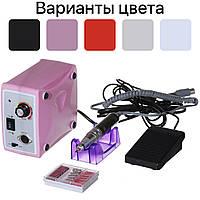 Фрезер для манікюру, нігтів Nail Drill ZS-701 на 35000 об/хв Рожевий