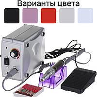 Фрезер для манікюру, нігтів Nail Drill ZS-701 на 35000 об/хв Сріблястий