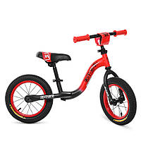 Беговел детский Profi Kids 12 дюймов резиновые колеса, метал.обод