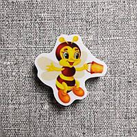 Магнитик канцелярский Пчёлка с ведром