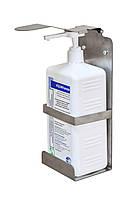 Дозатор локтевой ; держатель для антисептика ; подставка для антисептика ; нажимная подставка ;