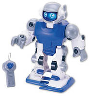 Робот Keenway, на д/у синий БРАК УПАКОВКИ