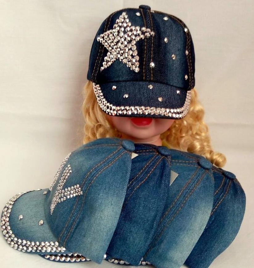 Детская кепка девочка Р.р 48-50