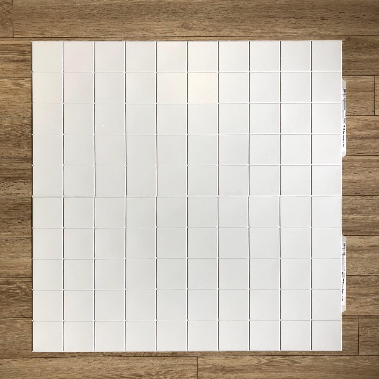 Пластиковая Декоративная Панель ПВХ Регул Промо Белая 957×480 мм