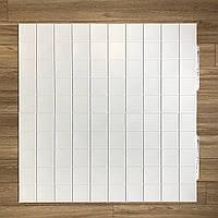 Пластиковая Декоративная Панель ПВХ Регул Промо Белая 957×480 мм, фото 1