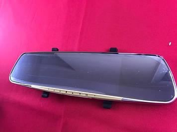 Зеркало видео регистратор V10 с экраном 7 дюймов и камерой заднего вида