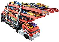 Трейлер Автовоз Хот Вилс на 50 машин Hot Wheels Mega Hauler Truck Mattel CKC09