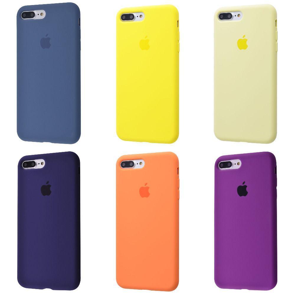 Чехол Silicone Case для Apple iPhone 7 Plus/8 Plus (55 цветов) Стандарт