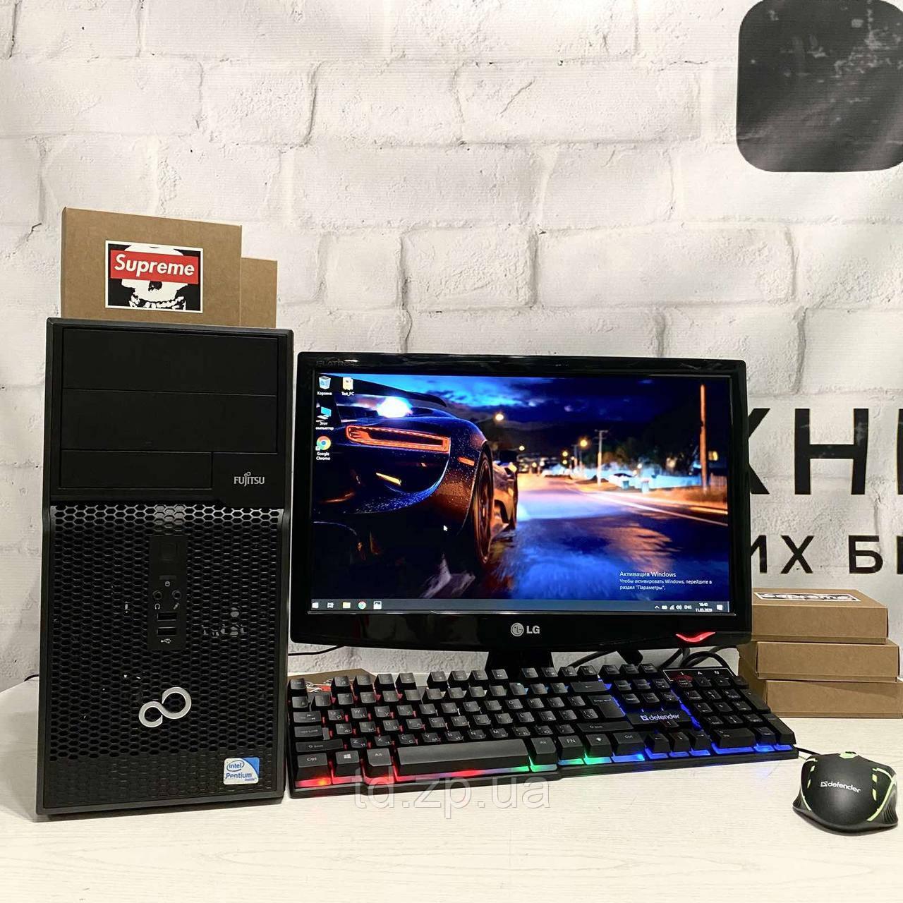 Игровой компьютер Intel Core i5-3470 + GTX 1060 6G + RAM 16Gb DDR3 + HDD 1000Gb + SSD 240Gb