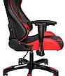 Кресло для врача Barsky SD-13 Sportdrive Game, черный / красный, фото 3