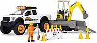 """Игровой набор Dickie Toys Playlife Строительство дороги"""" со звуком и световыми эффектами (3838004)"""