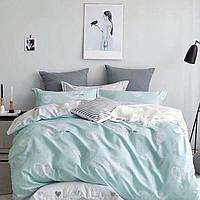 Постельное белье красивый полуторный комплект Краски сна