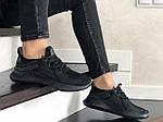 Жіночі кросівки Adidas (чорні) 9357, фото 4
