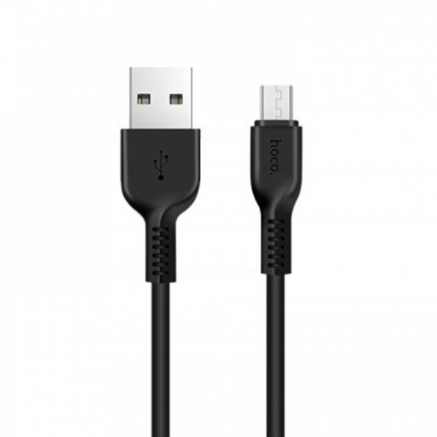 Кабель USB microUSB Hoco X13 1 м.