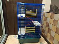 Клетка Шиншилла 50 высокая. 50*34*81. Для грызунов, фреток, шиншилл, белок и других экзотических животных.