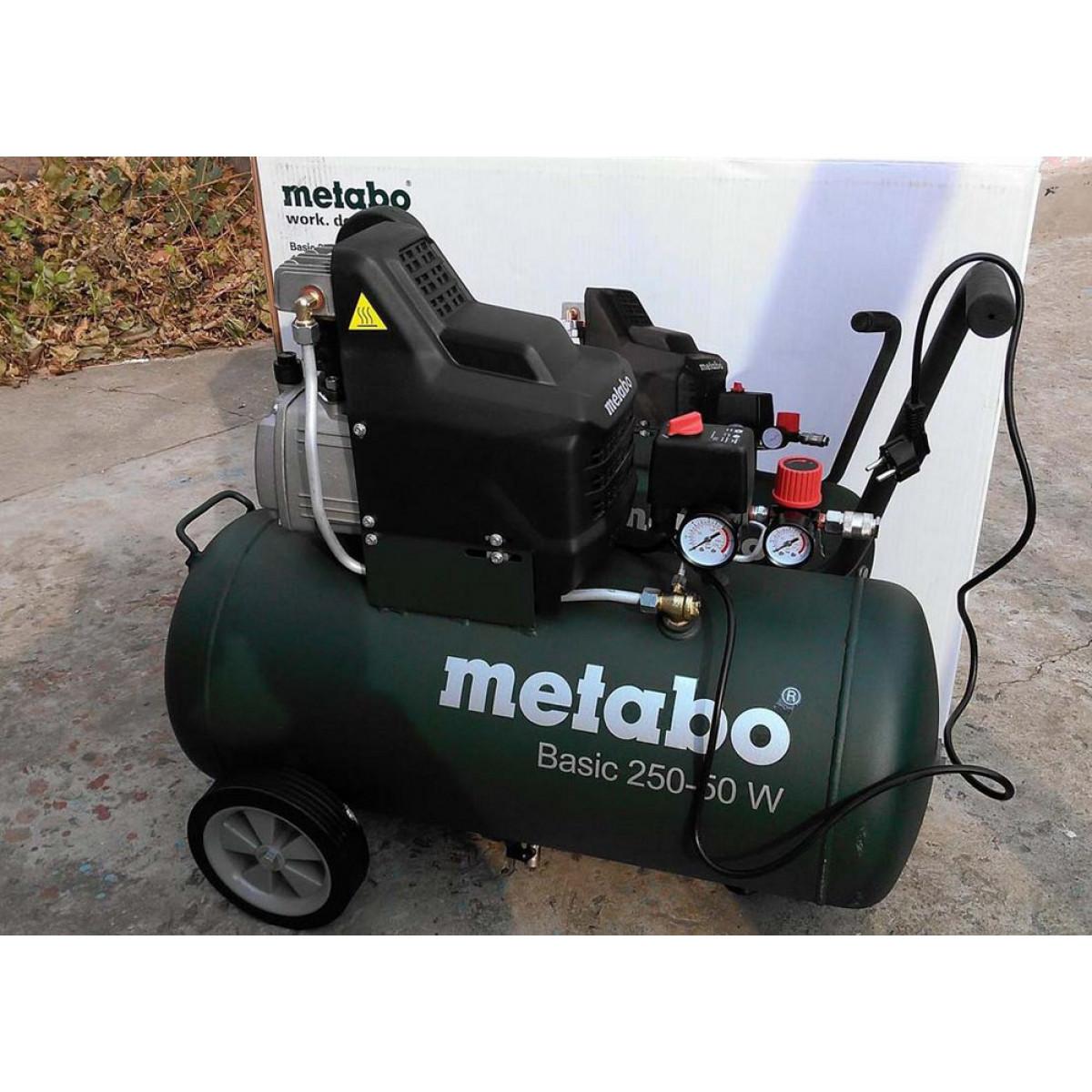 Компресор поршневий Metabo Basic 250-24 W 24л