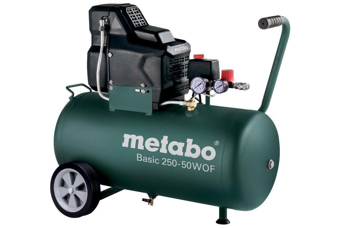 Безмасляный компрессор 1,5кВт Metabo Basic 250-24 W OF