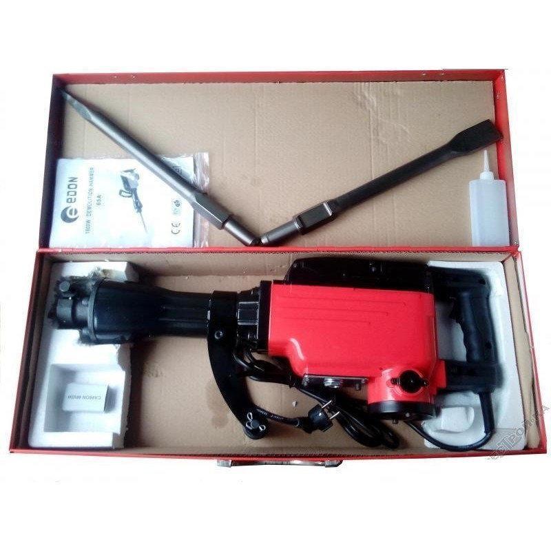 Відбійний молоток EDON DH-GL65A 1,8кВт 2900уд/хв