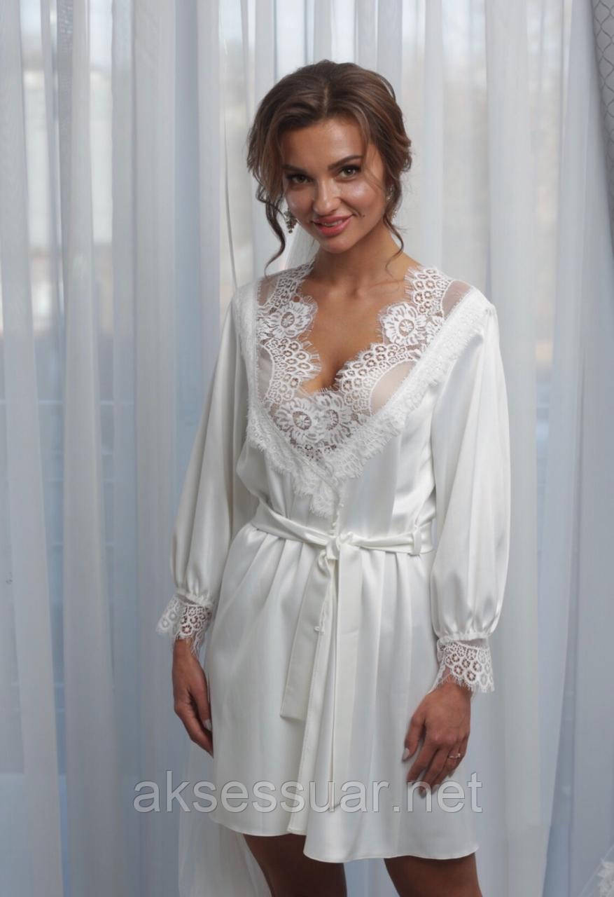 Халатик, пеньюар для утра невесты