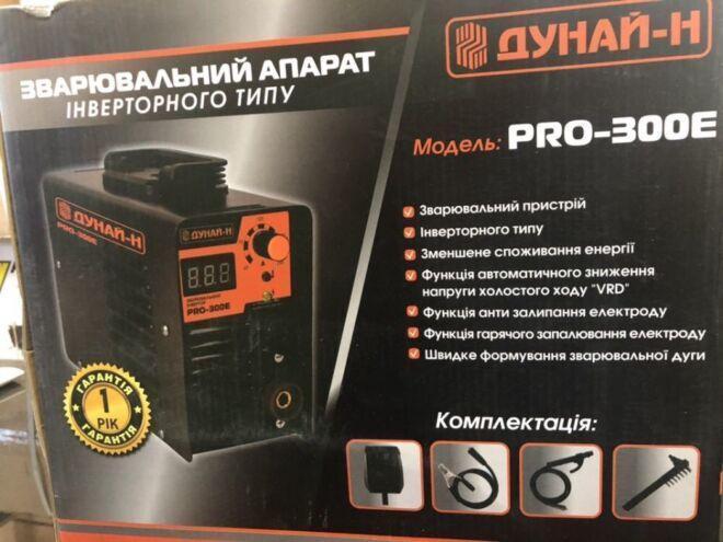 Сварочный инвертор Дунай-Н PRO 300E
