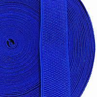 Резинка тканая 040мм цв синий (уп 25м) 3254 Укр-з