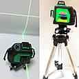 3D Лазерный уровень, нивелир AL-FA ALNL-3DG, фото 4