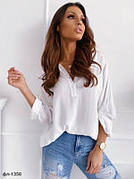 Женская стильная рубашка 2 цвета, фото 1