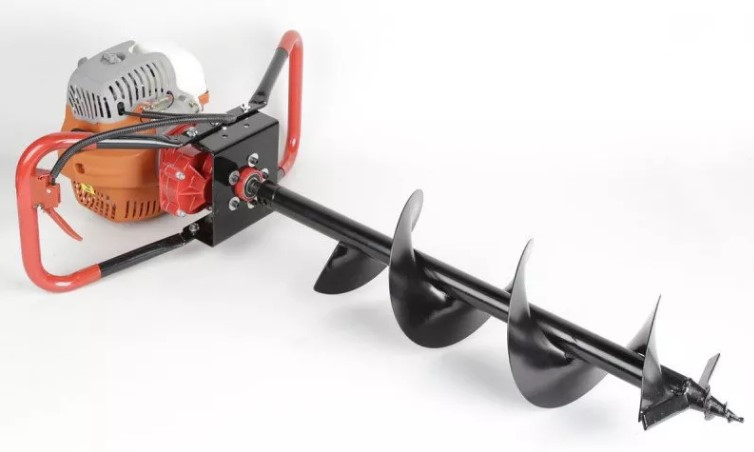 Бензобур земляной SHNIEDER LEX GD-520 (Буры: 150, 200,250мм)