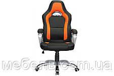 Кресло для врача Barsky SD-14 Sportdrive Game Orange, черный / оранжевый, фото 2