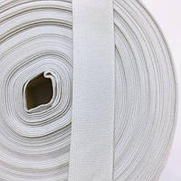 Резинка тканая 030мм цв белый (уп 25м) 2880 Укр-з