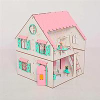 Кукольный домик NestWood Сказочный двухсторонний для ЛОЛ без мебели (kdl009)