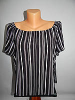 Блуза легкая фирменная женская NEW LOOK 50-52 р., 166бж