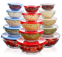 Кухонный набор (миски стеклянные)