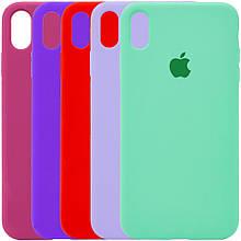 Чехол Silicone Case для Apple iPhone XS Max (55 цветов) Эксклюзив