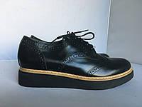 Женские туфли- броги San Marina, 37, 38 размер, фото 1