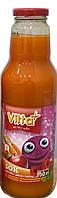 Сок детский Vitta Plus  морковь, яблоко, клубника Польша 750 мл