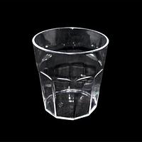 Стакан для виски пластик, бокал виски одноразовый