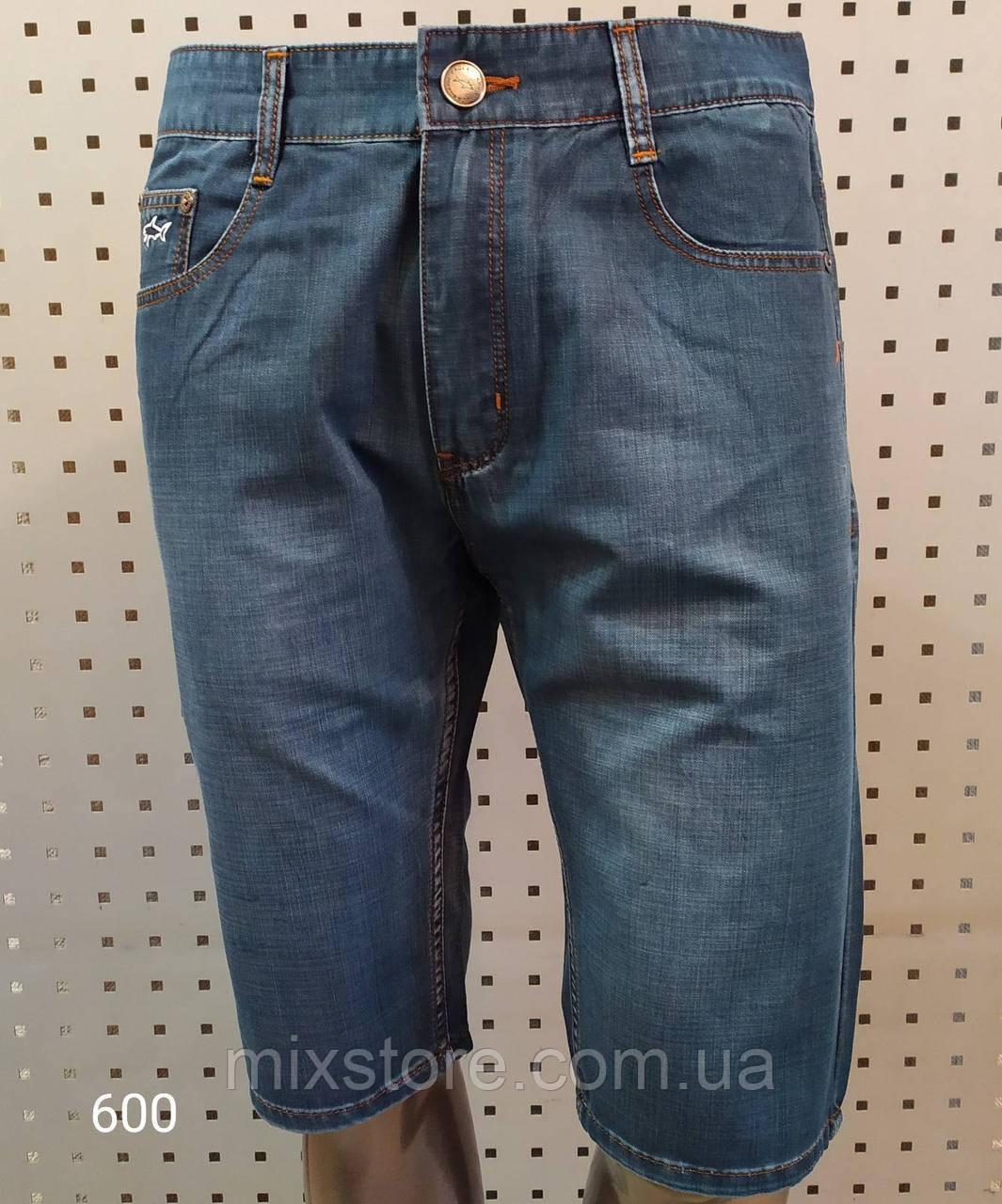 Мужские джинсовые шорты  PAUL SHARK,копия класса люкс.Турция