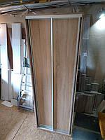 Шкаф купе 240 см на 80 см дуб сонома