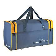 Дорожная сумка средняя Wallaby 54х32х24 ткань нейлон 420 Ден синяя  в 340син ж