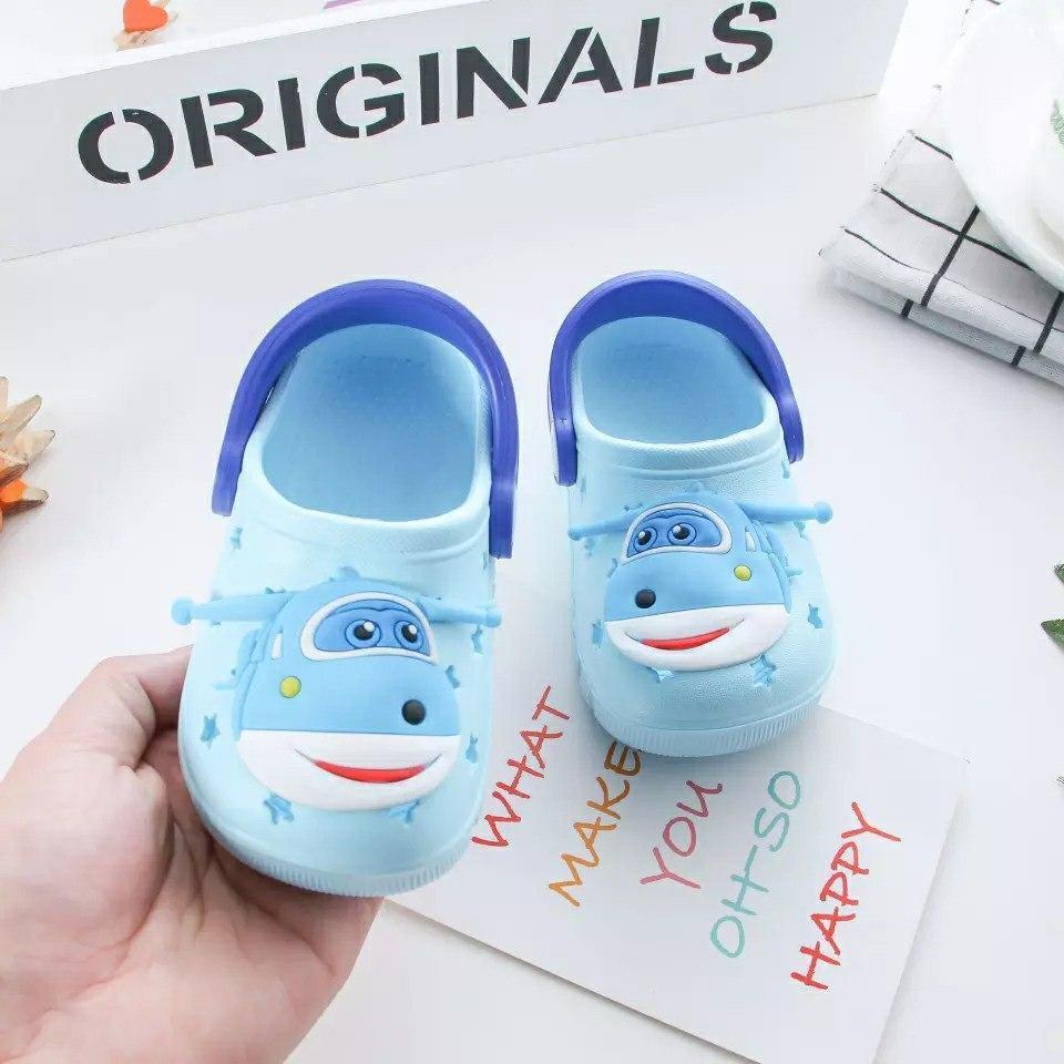 Крокси дитячі для дівчинки Мікс блакитні розмір 24 Київ