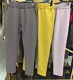 Женские красные зауженные брюки, фото 3