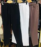 Женские красные зауженные брюки, фото 2