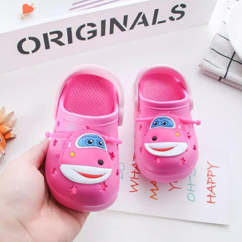 Кроксы детские для девочки Микс ярко-розовые размер 24 Киев